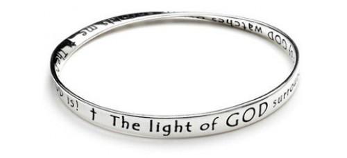 Prayer For Protection Mobius Bracelet