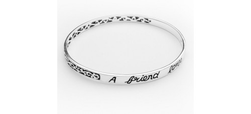 """Bangle From Heaven - """"A friend loves at all times"""""""