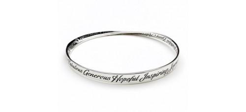 A to Z Of Inspiration Mobius Bracelet
