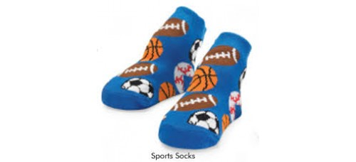 Blue Baby Sports Socks