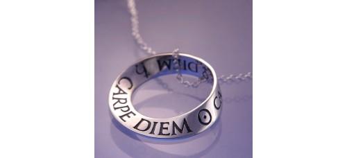 Carpe Diem Mobius Necklace