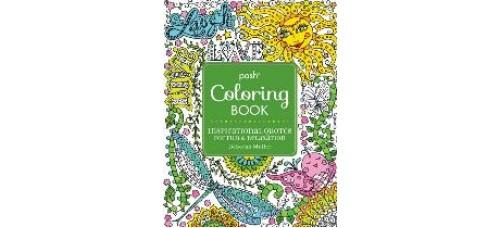 Inspirational Quotes Posh Coloring Book by Deborah Muller