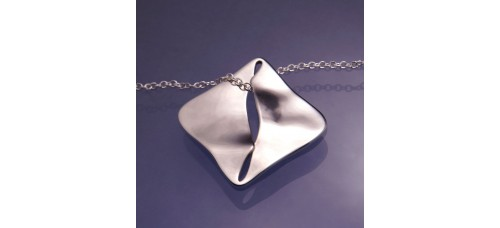 To Thine Ownself be True Hamlet Sterling Silver Necklace