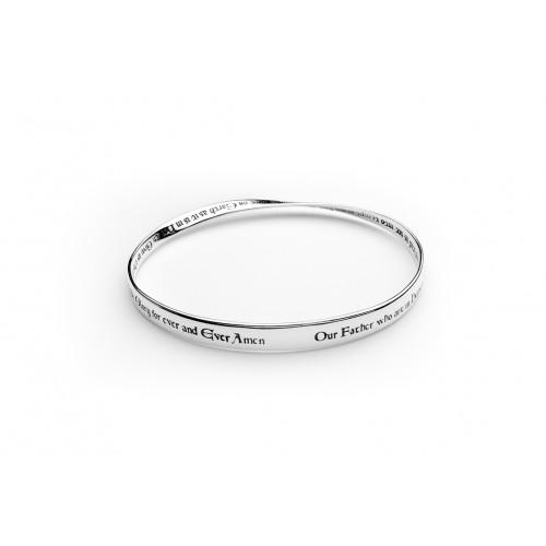 Lord S Prayer Kjv Mobius Bracelet