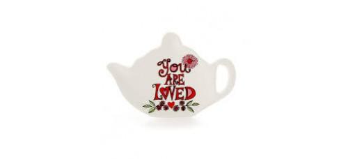 You are Loved Tea Bag Holder